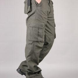Quần kaki túi hộp kiểu lính