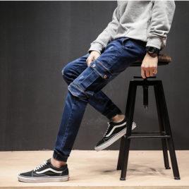 Quần jeans jogger nam JG80
